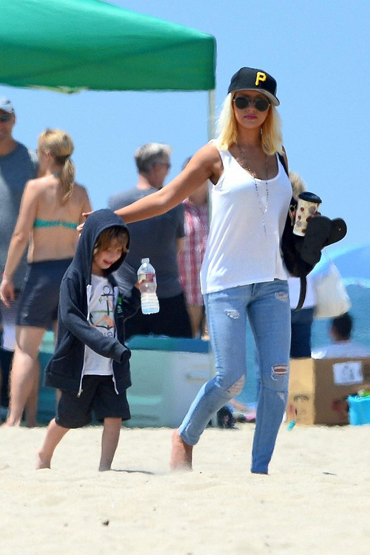 Christina se synem