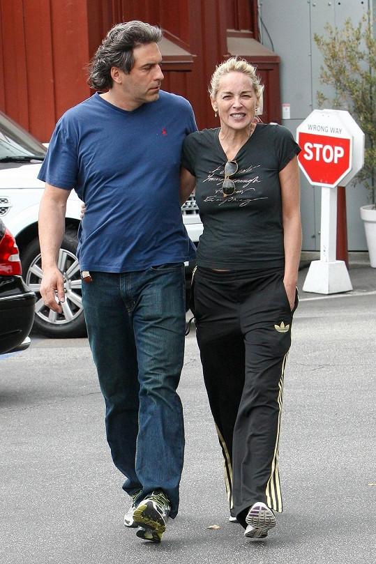 Sharon Stone s novým přítelem.