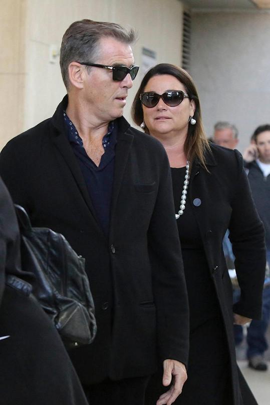 Keely Shaye Smith s manželem Piercem Brosnanem