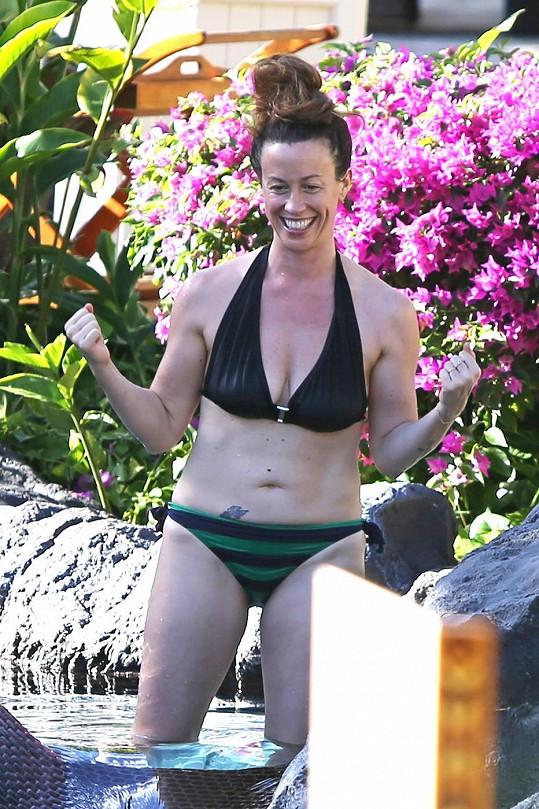 Alanis Morissette na dovolené na Havaji