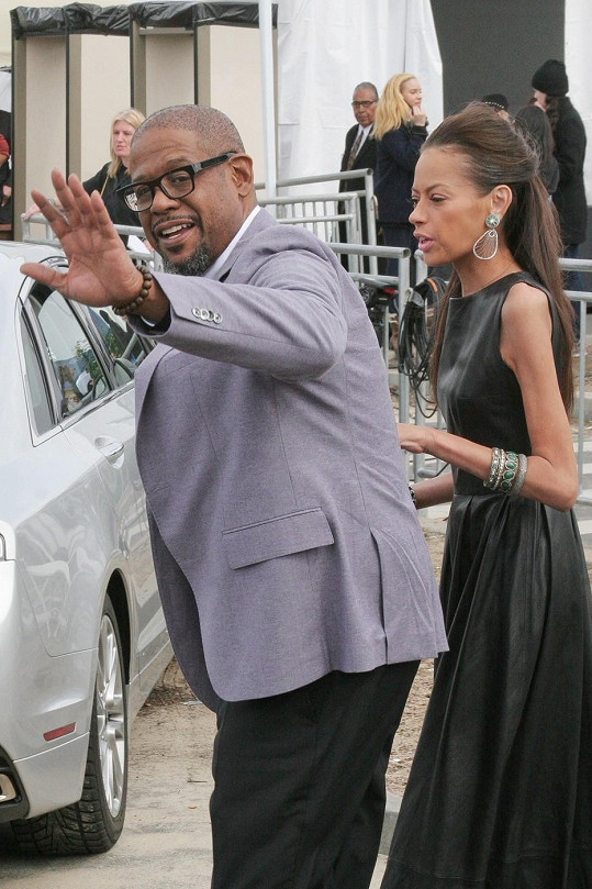 Manželé na předávání Film Independent Spirit Awards v Santa Monice minulou sobotu