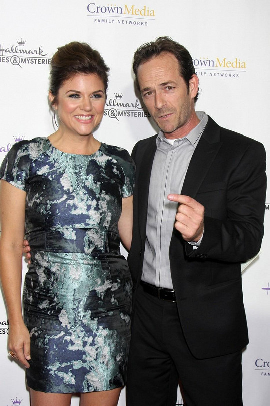 Luke Perry a Tiffani Thiessen