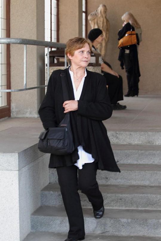 Marta Vančurová se nedávno loučila s Věrou Chytilovou.