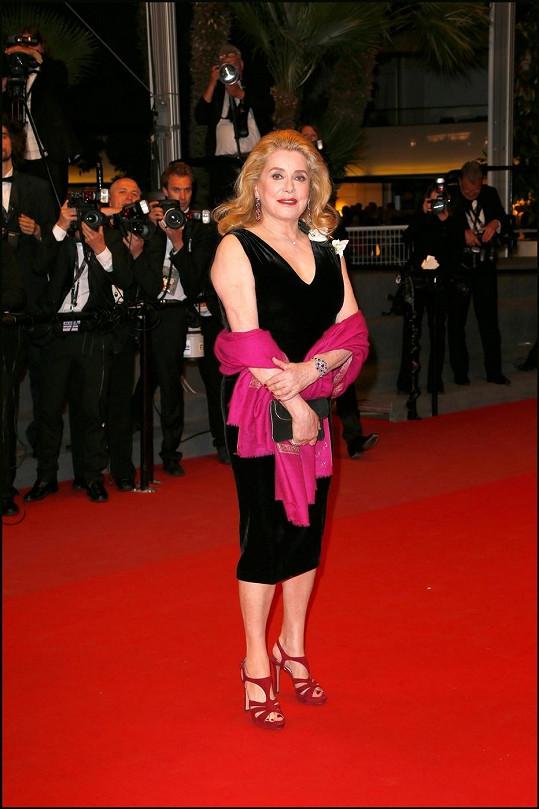 Catherine Deneuve na 66. ročníku filmového festivalu v Cannes