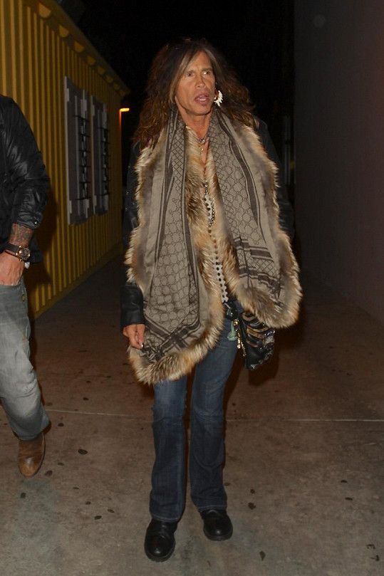 Steven Tyler jedině stylově!