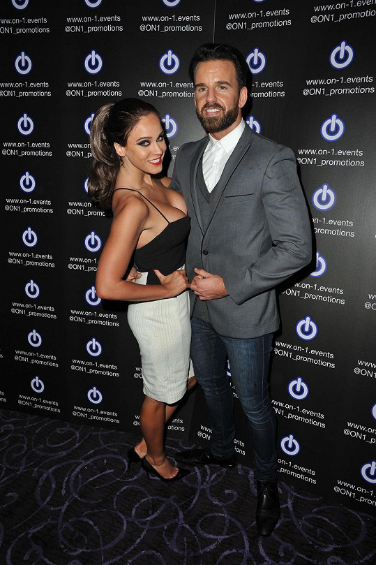 Vicky Pattison s Joshem Robsonem strávila silvestrovskou noc.