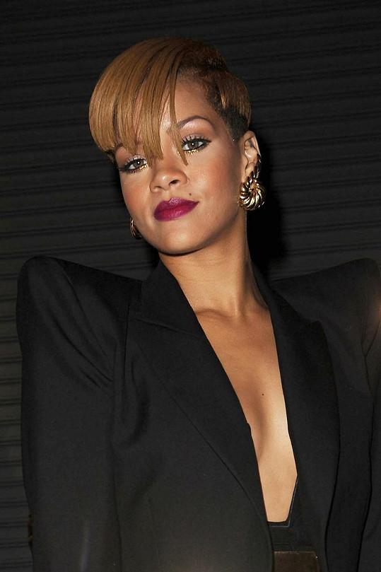 Tohle je skutečná Rihanna.