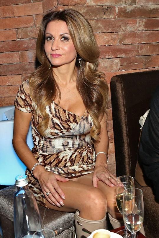 Yvetta Blanarovičová ukázala kalhotky už poněkolikáté.