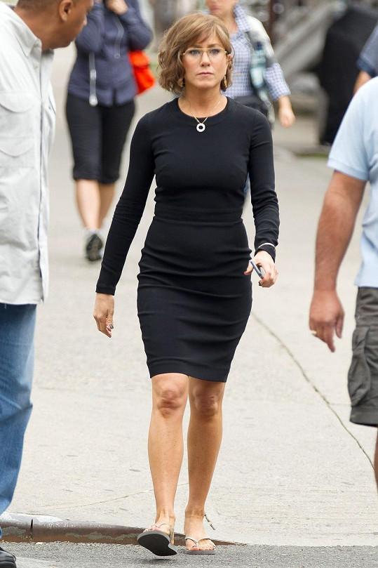 Jak jde i z krásné Jennifer Aniston udělat pravý opak...