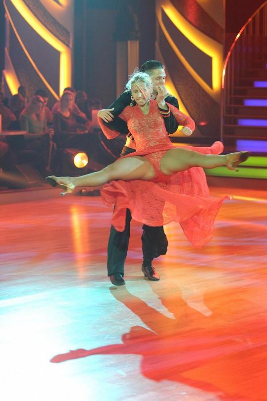 Eva Krejčířová a Ondřej Brzobohatý dali do tance opravdu všechno.