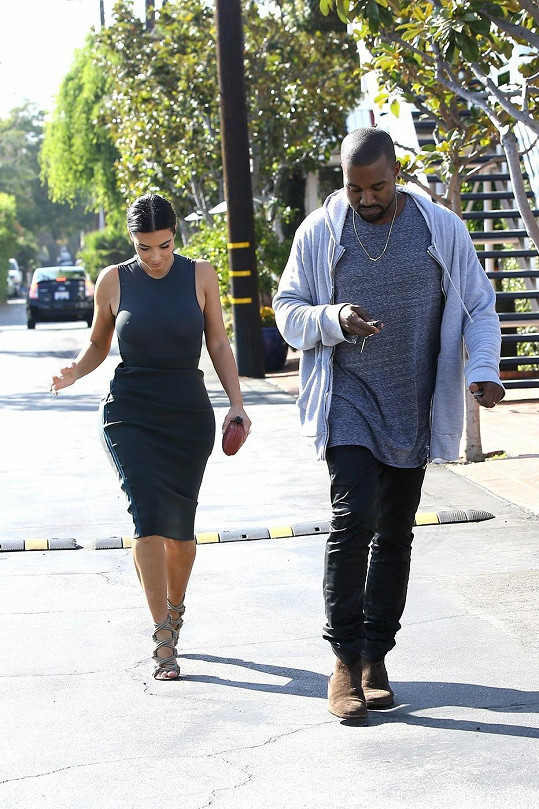 Kanye je na svou manželku hrdý.