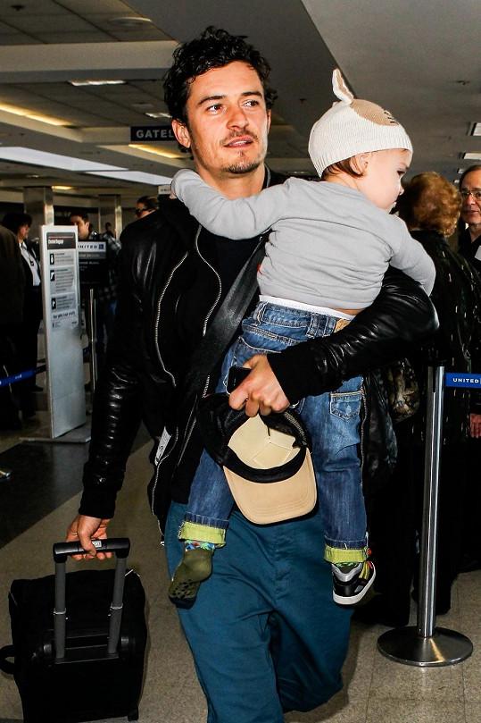 Orlando Bloom se synem