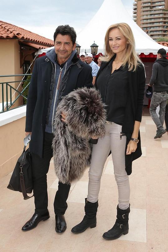 Slovenská modelka si vzala boháče.