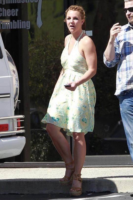 Britney se nejspíš na žebříčku nejlépe oblékaných celebrit světa nikdy neobjeví.