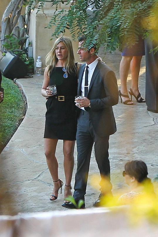 Justin a Jennifer rozhodně na údajný rozchod nevypadali.