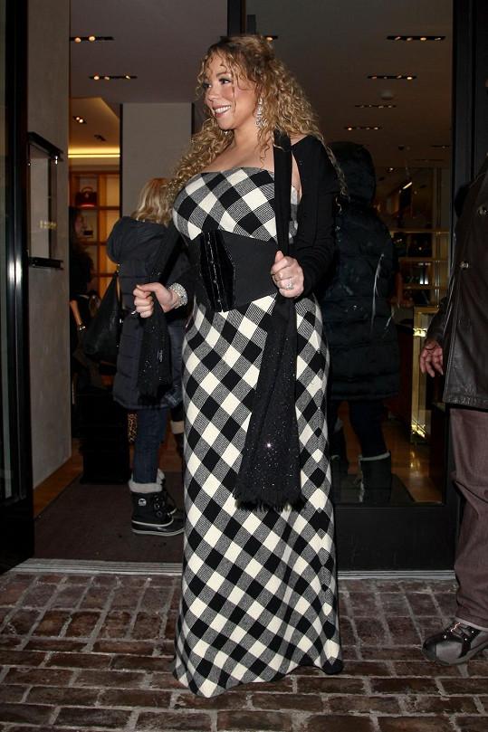 Mariah se ve svém modelu cítila skvěle, a to je hlavní...