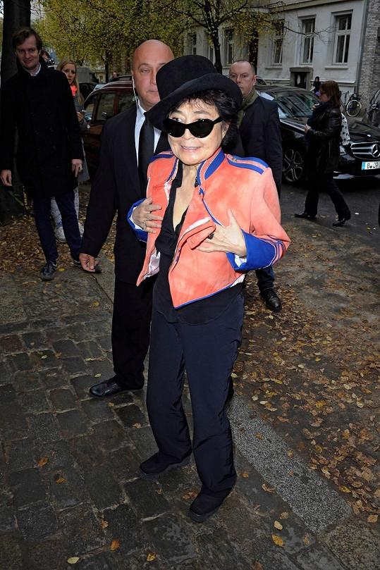 Yoko minulý týden v Německu