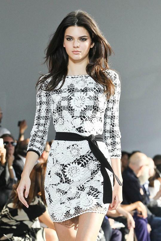 Nádherná Kendall Jenner pro Diane Von Furstenberg