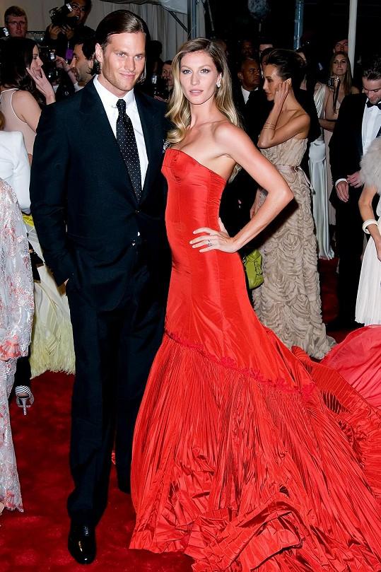 Gisele a její manžel Tom Brady.