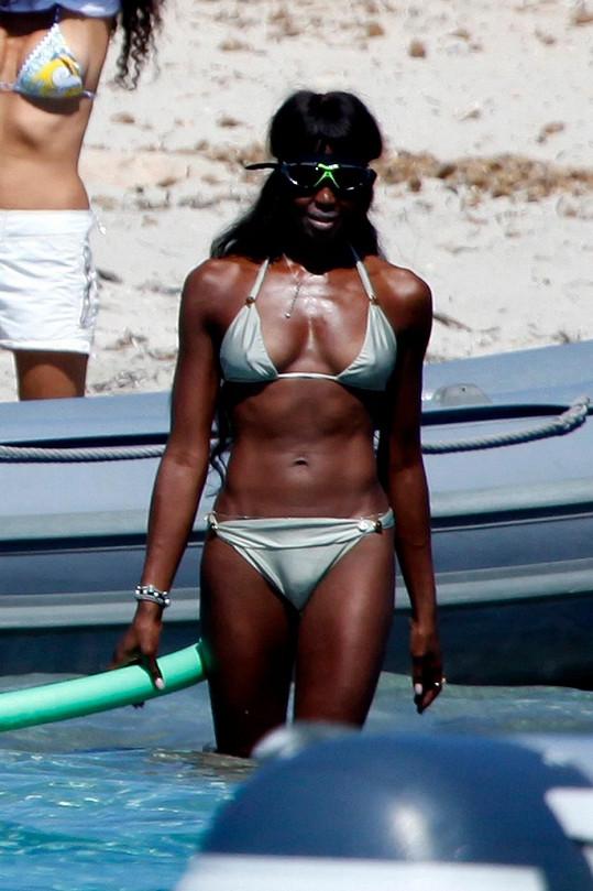 Naomi Campbell stále patří k nejúspěšnějším modelkám světa.
