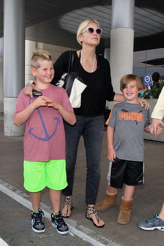 Sharon a její synové