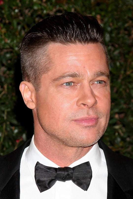 Brad Pitt koncem loňského roku