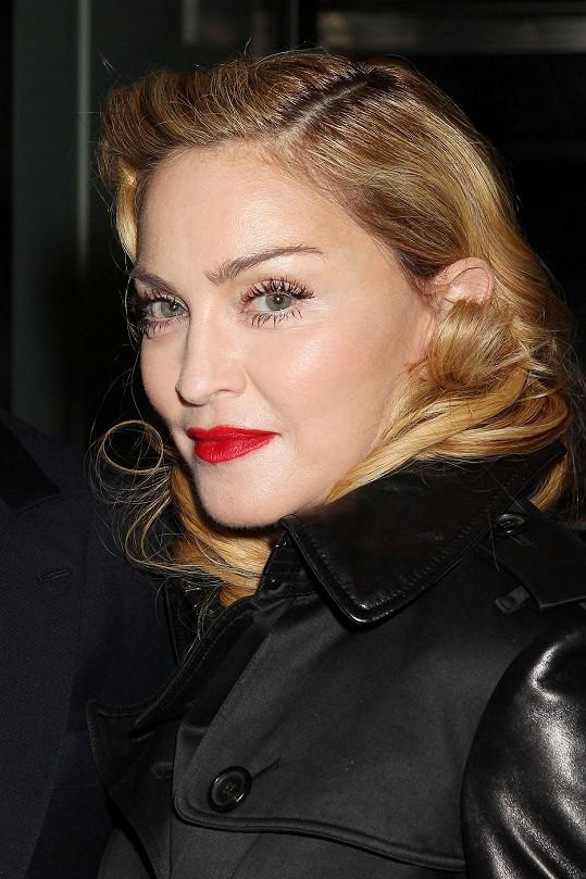 Madonna na filmovém festivalu v New Yorku