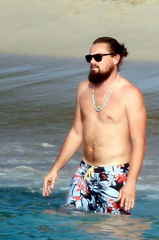 Leo si nechal narůst moderní plnovous.