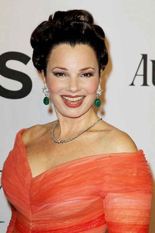 Fran Drescher na předávání Tony Awards