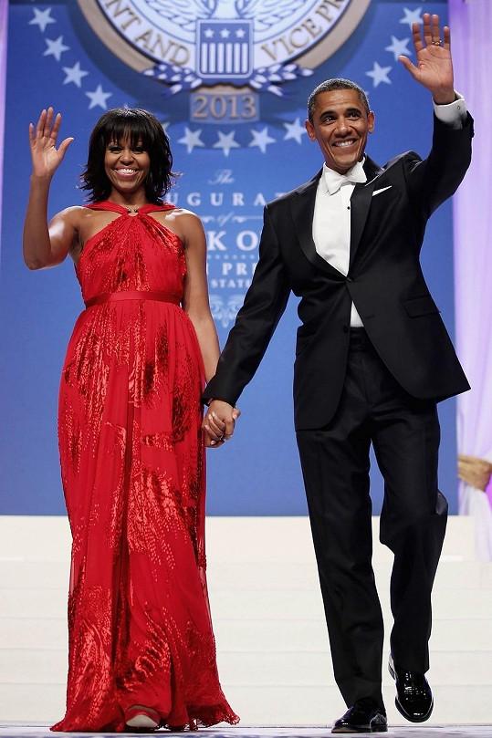 Michelle Obama a Barack Obama.