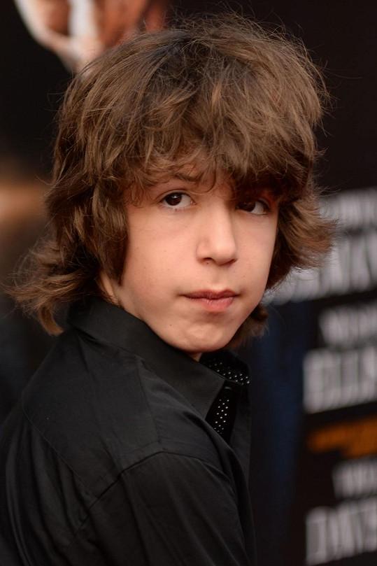 Lucas je nejmladším potomkem Micka Jaggera.