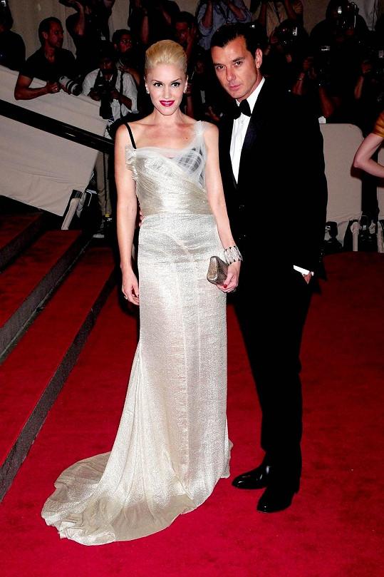 Gwen Stefani s manželem Gavinem Rossdalem.