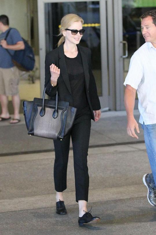 Nicole Kidman ukázala podprsenku.