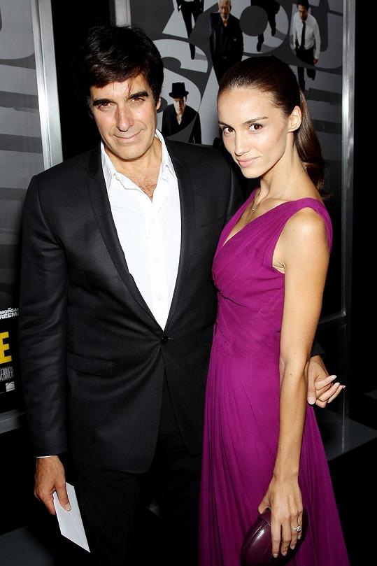 David Copperfield se snoubenkou Chloe Gosselin