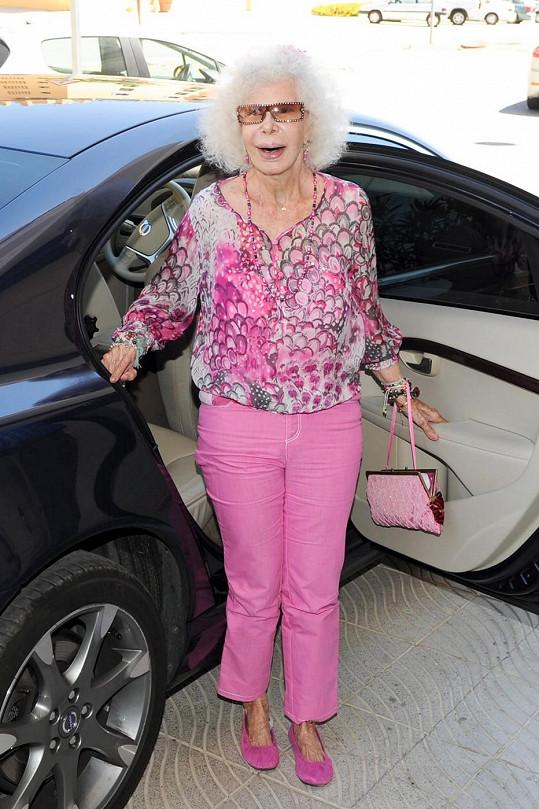 Vévodkyně byla šmrncovní seniorkou.