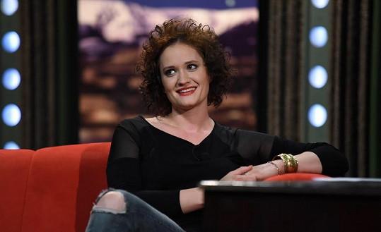 Po čtyřech letech se vrátila do Show Jana Krause jako úplně jiná žena.