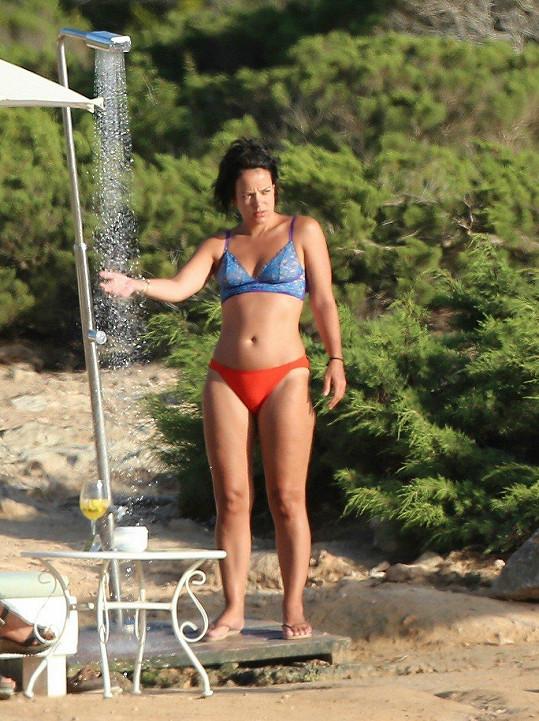 Lily Allen na dovolené na Ibize