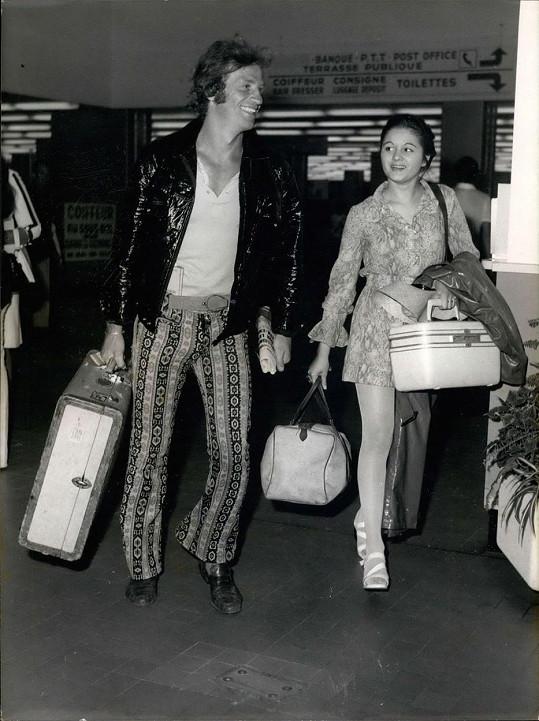 Jean-Paul Belmondo s dcerou Florence, která se jako první ozvala na sociálních sítích.
