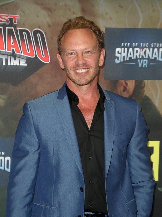 Ian Ziering (54) alias Steve je hvězdou Žraločího tornáda.