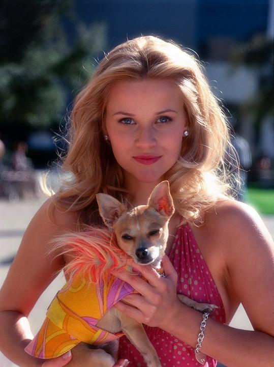 Jako Elle Woods ve filmu Pravá blondýnka