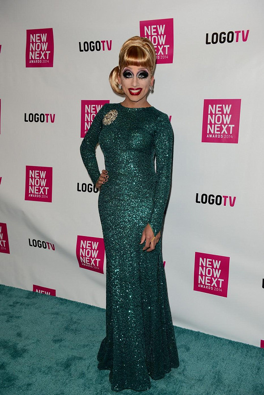Bianca Del Rio na NewNowNext Awards 2014