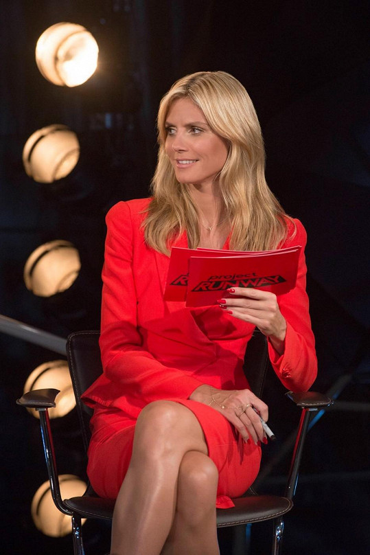 Heidi získala výnosný kontrakt na vlastní řadu spodního prádla.