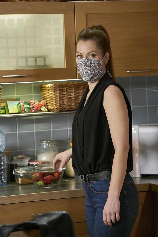 Hana Holišová jako Veronika Maléřová v Ulici