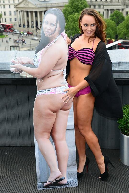 Chanelle Hayes už se zase cítí sexy.