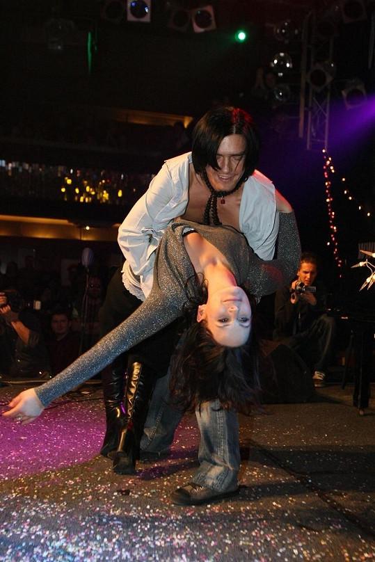 Petr a Jitka v zápalu tance. Představeni si byli až poté.