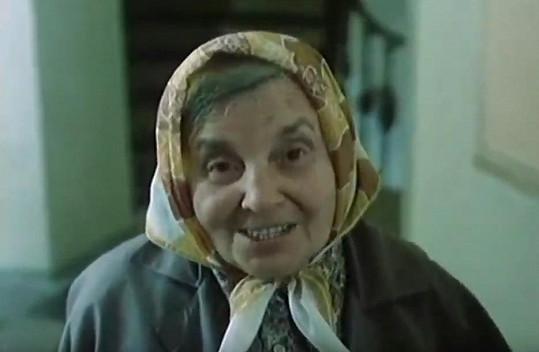 Milada Ježková v kultovní scéně ve filmu Kulový blesk (1978)