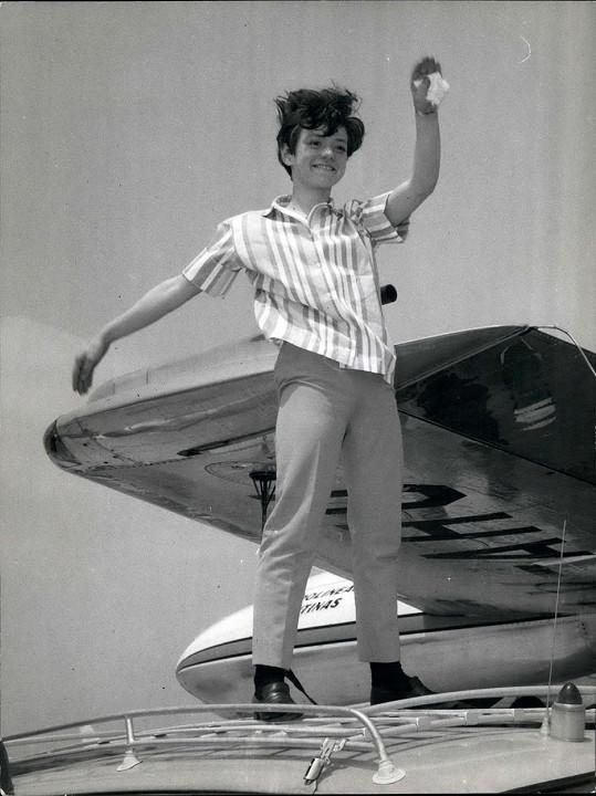 Rita Pavone v době své největší slávy v roce 1964.