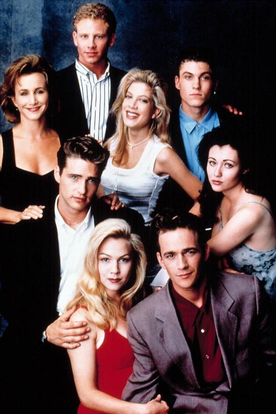 Seriál Beverly Hills 90210 jej proslavil.