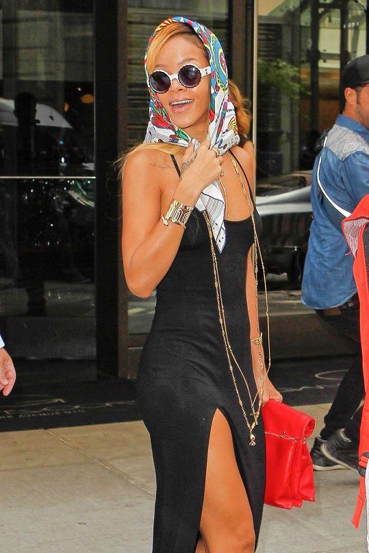 Rihanna v New Yorku.
