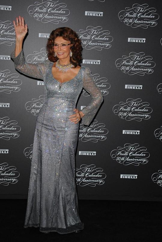 Stále božská Sophia Loren...